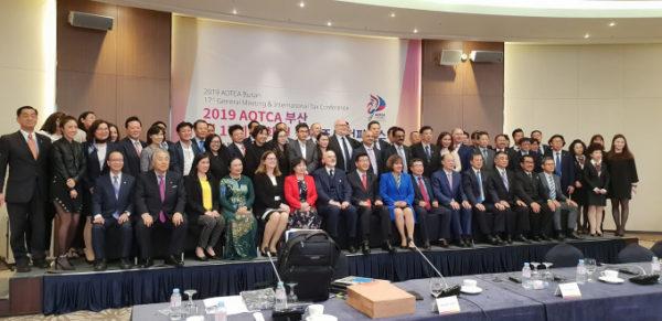 VTAX tham dự Hội nghị AOTCA 2019 diễn ra tại Busan, Hàn Quốc