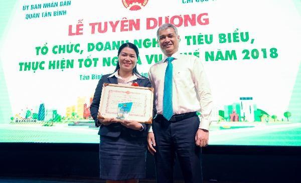 VTAX cùng với Ông Lê Duy Minh - Phó Cục Trưởng Cục thuế TP.HCM
