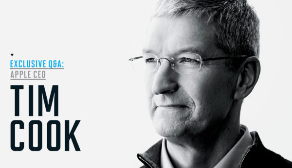 CEO Tim Cook