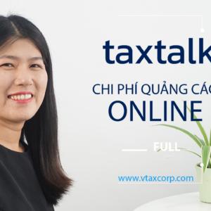 taxtalk Quyet toan chi phi quang cao online