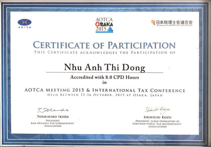 151015 GCN Hội nghị AOTCA