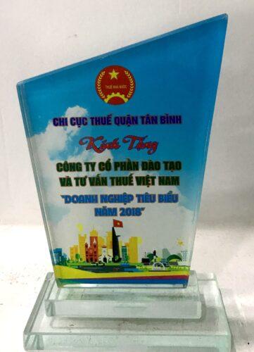 Kỷ niệm chương Chi cục thuế quận Tân Bình